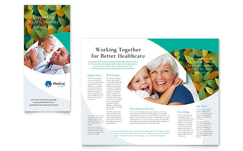 Doctors Office InDesign Brochure Template