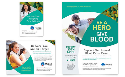 Doctor's Office Flyer & Ad Template