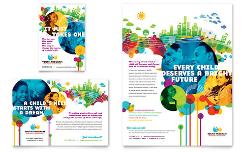 Youth Program Flyer & Ad Template