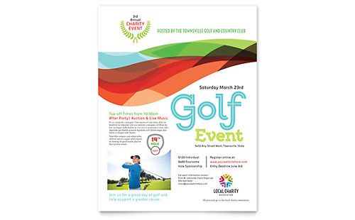 Non Profit Flyers – Sponsorship Flyer Template