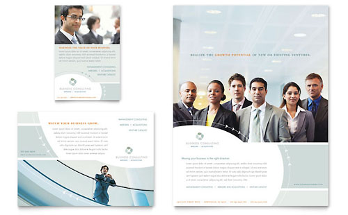 Business Consulting Flyer & Ad Template