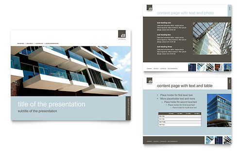 Architect PowerPoint Presentation Template