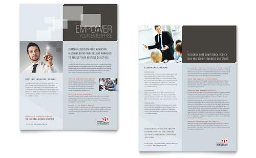 Corporate Business Datasheet Template