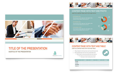 Management Consulting PowerPoint Presentation Template