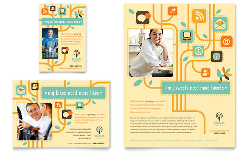 Business Services Flyer & Ad Template