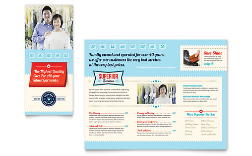 Swimming Pool Service Brochure Design : Swimming pool cleaning service flyer ad template design