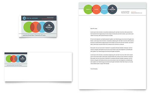 Business Analyst - Business Card & Letterhead Template