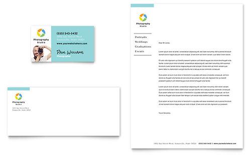 Photographer Letterhead Template