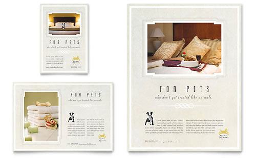 Pet Hotel & Spa Flyer & Ad Template