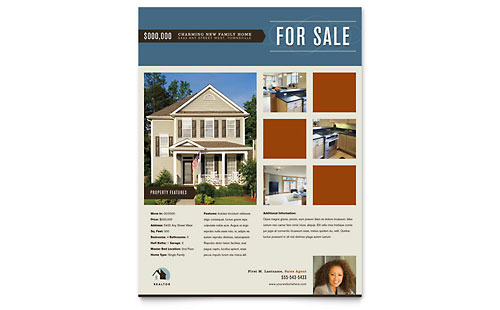 Residential Realtor Flyer Template