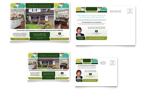 Real Estate Postcard Template
