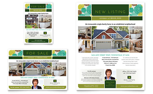 Real Estate Flyer & Ad Template