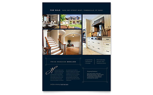 Luxury Home Real Estate - Flyer Template