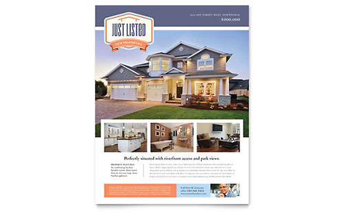 New Property Flyer Template