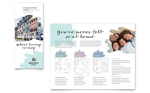 Apartment InDesign Brochure Template