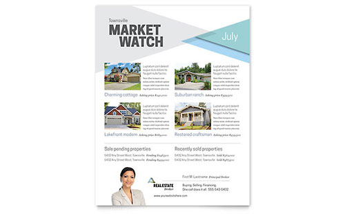 Realtor Flyer Template