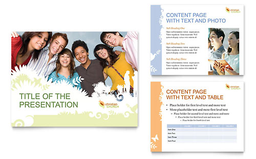 Christian Church PowerPoint Presentation Template