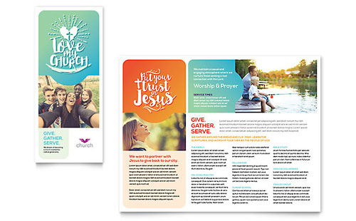 Church - QuarkXPress Brochure Template