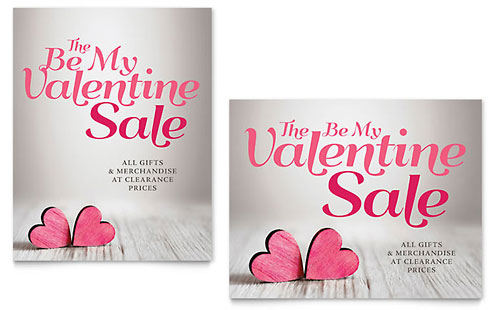 Valentine - Poster Sample Template