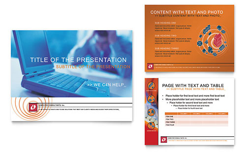 Computer Consulting PowerPoint Presentation Template