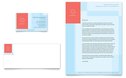 technology letterheads