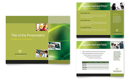 Internet Marketing PowerPoint Presentation Template