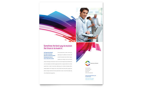Software Solutions - Flyer Template