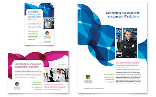 Network Administration - Flyer & Ad Template