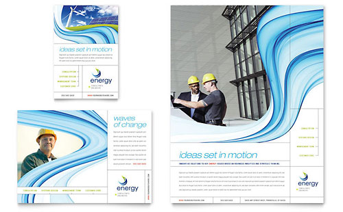 Renewable Energy Consulting Flyer & Ad Template