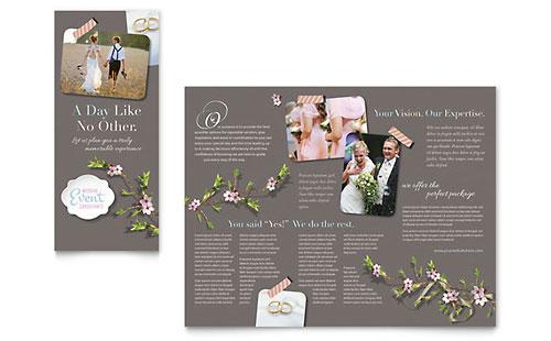 Wedding Planner - Brochure Template