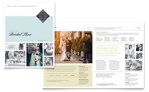 Bridal Show Pamphlet Template