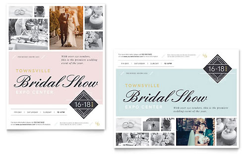 Bridal Show Poster Template