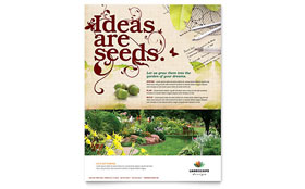 Landscape Design - Flyer