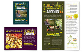 Farmers Market - Flyer & Ad Template Design Sample