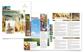 Farming & Agriculture - Brochure Template