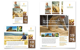 Farming & Agriculture - Flyer & Ad Template Design Sample