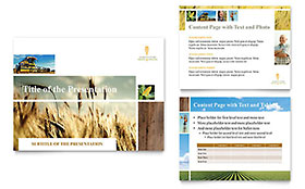 Farming & Agriculture - PowerPoint Presentation Sample Template