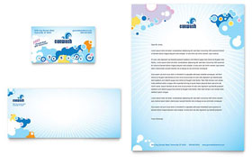 Car Wash - Business Card & Letterhead