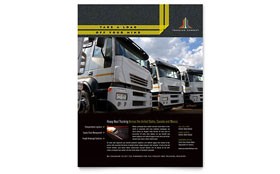 Trucking & Transport - Leaflet