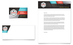Auto Mechanic - Letterhead Template Design Sample