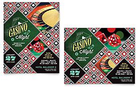 Casino Night - Poster Template