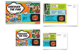 Kids Club - Postcard Template