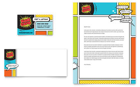 Kids Club - Letterhead Template