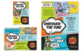 Kids Club - Leaflet Sample Template