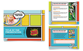 Kids Club - Microsoft PowerPoint Template