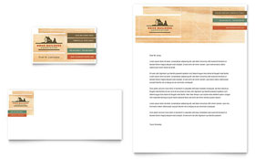 Home Builders & Construction - Business Card & Letterhead