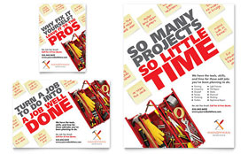 Handyman Services - Flyer & Ad Template