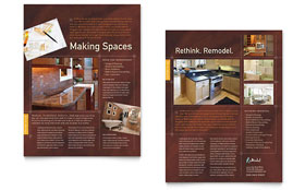 Home Remodeling - Datasheet Sample Template