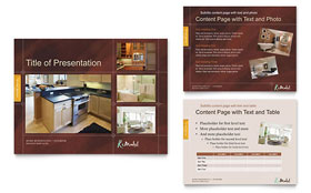 Home Remodeling - PowerPoint Presentation Sample Template