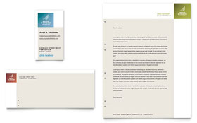 Decks & Fencing - Letterhead Template Design Sample